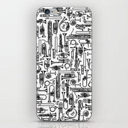 Horns B&W II iPhone Skin