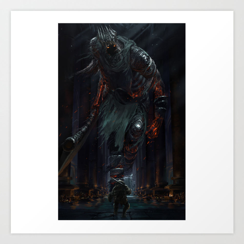Yhorm The Giant Poster by Ishonen PRN7404683