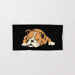 English Bulldog | Dog Lover Hand & Bath Towel