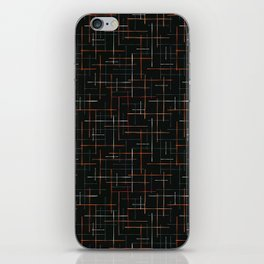 Abstract Criss Cross Lines Seamless iPhone Skin