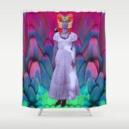 My Frida   My Herοine Shower Curtain