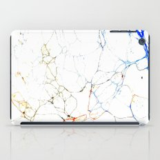 Marbled Blue Veins iPad Case