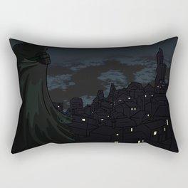 Watching the City at Night Rectangular Pillow