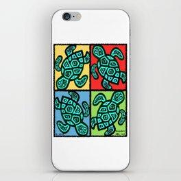 Pop Turtles iPhone Skin