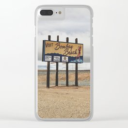 Bombay Beach 2 Clear iPhone Case