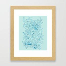 Le Grand Bleu Framed Art Print