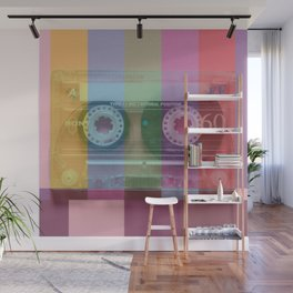 Cassette#tvcolor#VHS Wall Mural