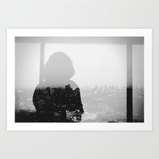 Midnight Passages.  Art Print