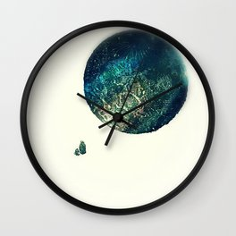 A Walk To The Moon Wall Clock