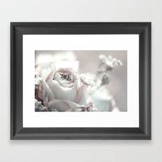 Bunch of roses- Pastel Framed Art Print