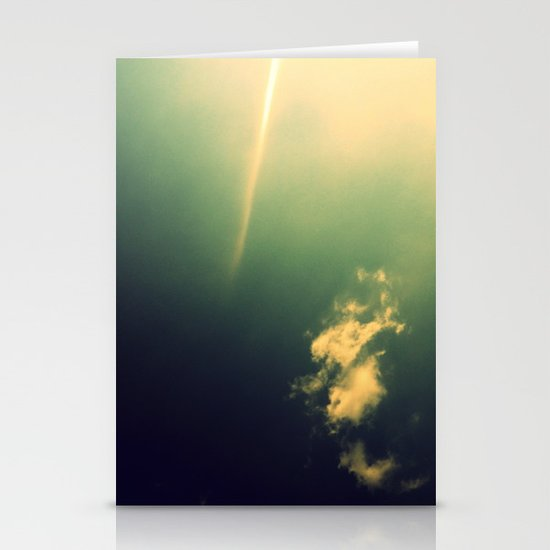 And a Lone Ray Shone Down Stationery Cards