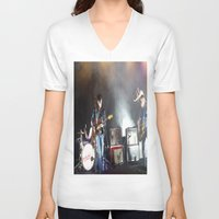 arctic monkeys V-neck T-shirts featuring Arctic Monkeys in Brooklyn, New York by The Electric Blue / Yen-Hsiang Liang (Gr