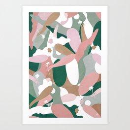 Depiction Of Self Love (emerald) Art Print