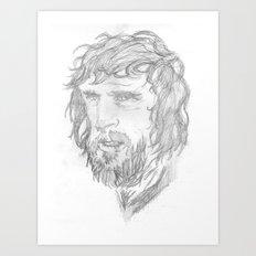 Kris Kristofferson - Sketch Art Print