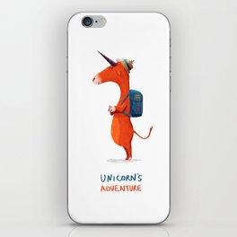 Unicorn's adventure iPhone Skin