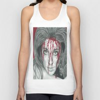 kris tate Tank Tops featuring Sharon Tate  by Jimmy Lee