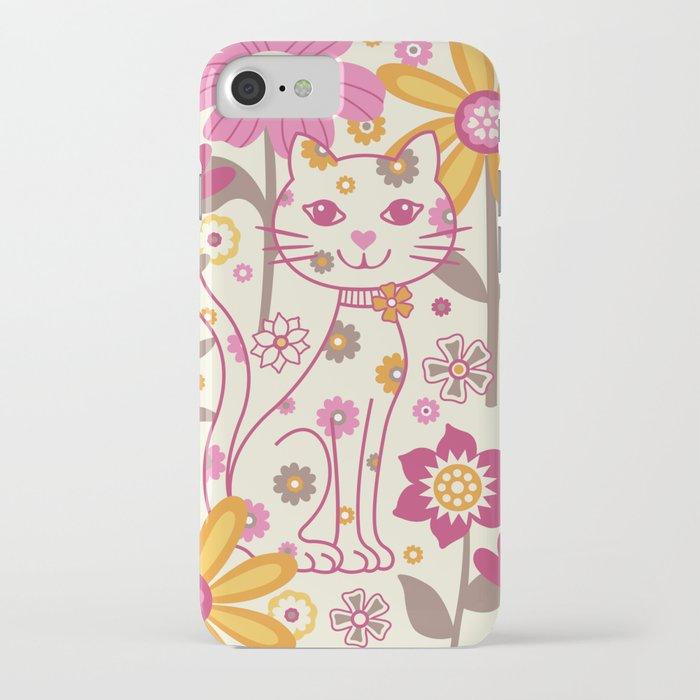 Garden Cat iPhone Case