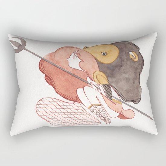 gladiator Rectangular Pillow