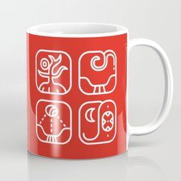Mayan Glyphs ~ Nature Coffee Mug
