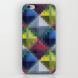 Untitled #87 Diamonds iPhone Skin