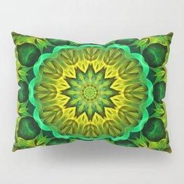 Blooming Forest Guardians Mandala Pillow Sham