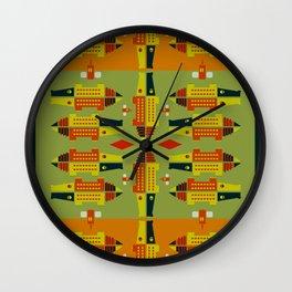 The Swamp Wall Clock