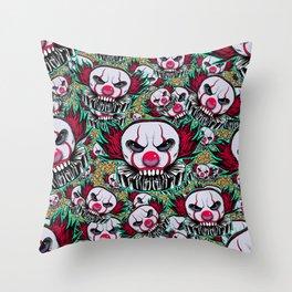 Cute Skulls IT Throw Pillow