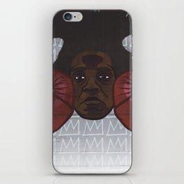 Jean-Michel Basquiat iPhone Skin