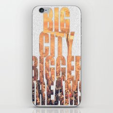 Big City Dreams iPhone & iPod Skin