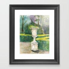 Abstract Vase Framed Art Print