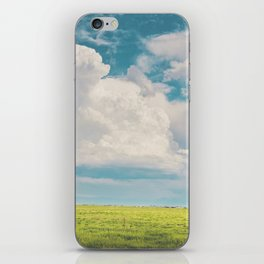 Gallatin County Storm Clouds iPhone Skin