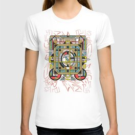 Switchplate - Surreal Geometric Abstract Expressionism T-shirt