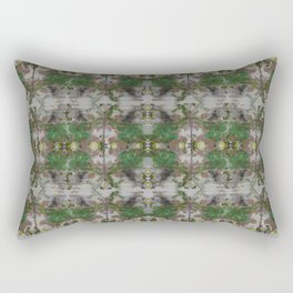 The Butterfly Effect Greens  Rectangular Pillow