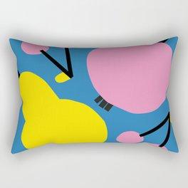 Pear, Apple & Cherries Rectangular Pillow