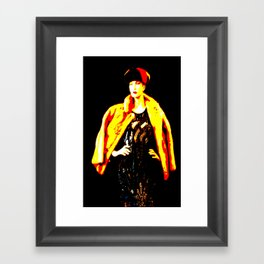 Cotton Club Talullah Framed Art Print