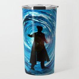 Doctor Inside Time Vortex Travel Mug