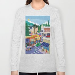 Town of Los Gatos (A Day in the Life) Long Sleeve T-shirt