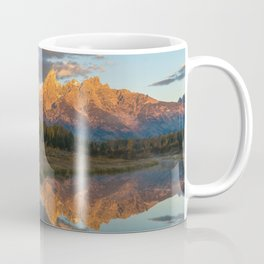 Sunrise On The Snake River Coffee Mug