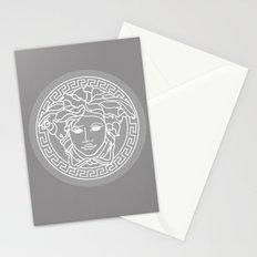 Versace Grey Stationery Cards