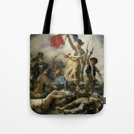 Liberty Leading the People (High Resolution) Tote Bag
