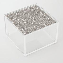Silver Glitter I Acrylic Box
