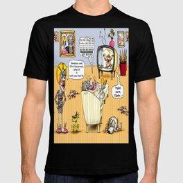 Men, Clint Eastwood, and Monkeys  T-shirt