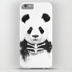 Zombie panda iPhone 6 Plus Slim Case