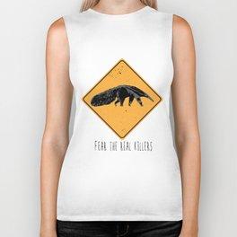 Fear the Real Killers - Anteater Biker Tank