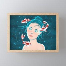 Flying Fish Framed Mini Art Print