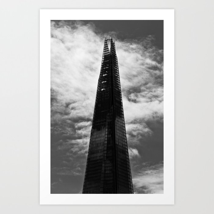 The shard Art Print