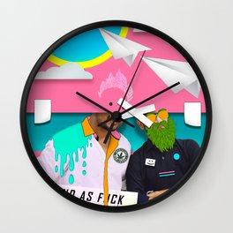 """HIGH"" Wall Clock"