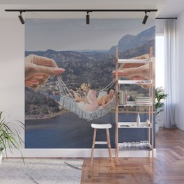 Hangin' Out Wall Mural