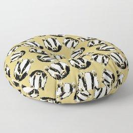 Magic cute Badger Floor Pillow