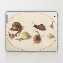 Naturalist Snails Laptop & iPad Skin